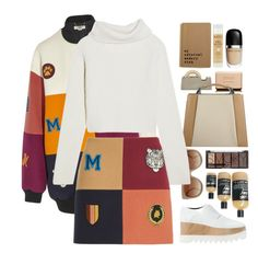 """back to Hogwarts"" by luizajarosa ❤ liked on Polyvore featuring Chanel, STELLA McCARTNEY, Areaware, Caroline De Marchi, Haider Ackermann, H&M, Moleskine and Natio"