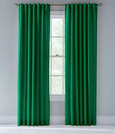 "Prospect & Vine - Kelly Green curtain -  84"" - $70"