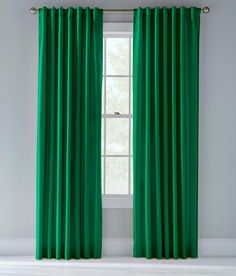 "Prospect & Vine - Kelly Green curtain -  84"" - $70"