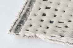 3D knitted, stretch upholstery fabrics for Kvadrat by Ronan and Erwan Boroullec. http://design-milk.com/3d-knitted-fabric-ronan-erwan-bouroullec-kvadrat/