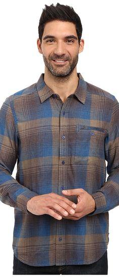 Toad&Co Singlejack Long Sleeve Shirt (Blue Abyss) Men's Clothing - Toad&Co, Singlejack Long Sleeve Shirt, T2251602, Apparel Top General, Top, Top, Apparel, Clothes Clothing, Gift, - Street Fashion And Style Ideas