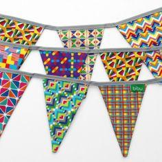 Fiesta Textile Garlands by Bibu