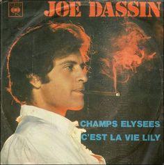 45 RPM - CBS - 4898 - 1970 - Champs Élysées/C'est la vie Lily (Italie)