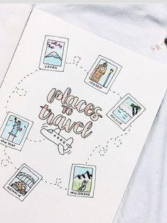 Notizbuch / sketch book   bullet journal / travel journal