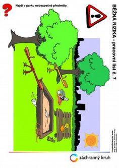 Běžná rizika - Nebezpečí číhající parku, Záchranný kruh Grinch, Park, Fictional Characters, Parks, Fantasy Characters