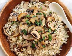 Σήμερα φτιάχνουμε το πιο νόστιμο ρύζι με μανιτάρια - Jenny.gr