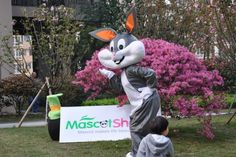 New Version Bugs Bunny Costume http://www.mascotshows.com/product/new-bugs-bunny-mascot-adult-costume.html