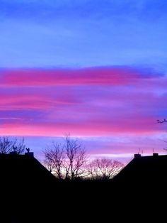 pink & blue sky