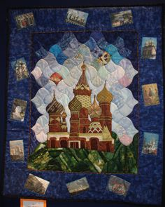 St. Basil's - The Summer of My Russian Dream by Kristin Wood. Fine Art of Fiber 2008