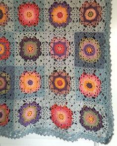 #rusticlacesquare #crochetblanket #crochetersofinstagram #crochet #crocheting