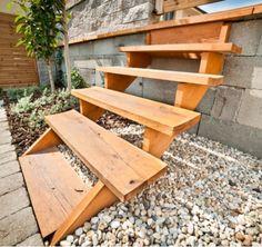 Drevené schody Outdoor Furniture, Outdoor Decor, Wood, Home Decor, Decoration Home, Woodwind Instrument, Room Decor, Timber Wood, Wood Planks