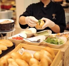 You haven't really tasted Saigon until you've tasted a banh mi. Crunchy, soft, light and incredibly satisfying all at the same time, banh mi packs a lot of punch into a little package. This humble sandwich is as iconic as Vietnam's conical hats and motorcycle-filled streets. That's why we've made it the newest addition to our breakfast buffet at Nineteen.