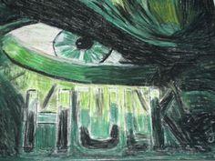 Hulk, Gemälde, Ölpastel, Leinwand, Leinwandbilder, MW Art, Marion Waschk, Kunstmalerei, Kunst, Art, Künstler, Malerei, Auftragsarbeit, Portrait, Wanddeko,