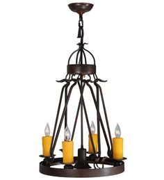 Lakeshore 5 Light Candle Chandelier