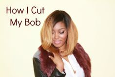 How I Cut My Bob Full Wig