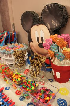 Candy Buffet... Fun-Filled Goodies for Kids