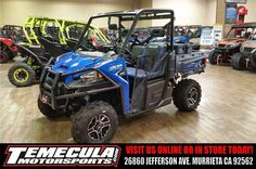 New 2016 Polaris Ranger XP 900 EPS Trail Edition ATVs For Sale in California.