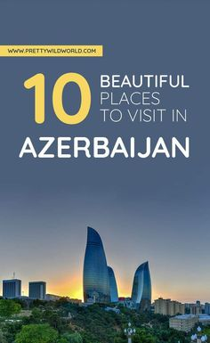 Check out the Azerbaijan points of interest. From things to do in Azerbaijan,. Europe Travel Tips, European Travel, Asia Travel, Travel Guides, Travel Destinations, Travel List, Best Places To Travel, Best Cities, Cool Places To Visit