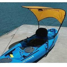 WindPaddle Sails Bimini Sun Shade -   Kayak Accessories                                               Mark so needs this!