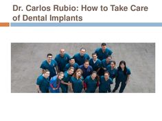 Rubio Dental Group in Los Algodones, Mexico is always there to take care of any problems you face after implant placement.