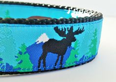 Into the Wilderness  Dog Collar / Moose / by StinkyandSweetPea