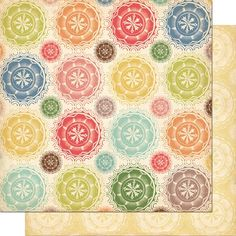 """Eclectic"" paper in the Odds & Ends line by Cosmo Cricket"