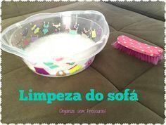 Organize sem Frescuras   Rafaela Oliveira » Arquivos » Como limpar o sofá