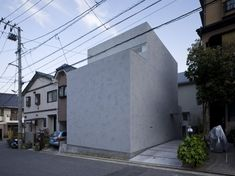 House in Danbara, Suppose Design Office. Hiroshima. #solid massing form #privacy