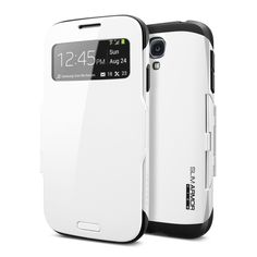Spigen SGP10344 Slim Armor View Case for Samsung Galaxy S4 - Retail Packaging - Infinity White for $42.39