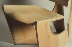Easy Chair byOwen Read: CNC-milled plywood.