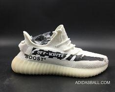 a8d48030352 Women Men Discount Off-White X Adidas Yeezy Boost 350 V2 White