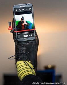 Maximilian Weinzierl – Fotografie – Blog: Selfie Schuh – Schuh Selfie