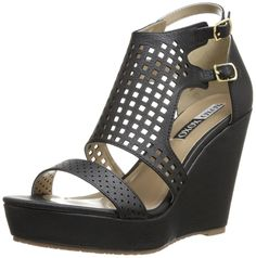 XOXO Women's Ruby Wedge Sandal * Check out the image by visiting the link.