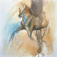 """Saatchi Art Artist Benedicte Gele; Painting, """"Equine Nude 6t"""" #art"""
