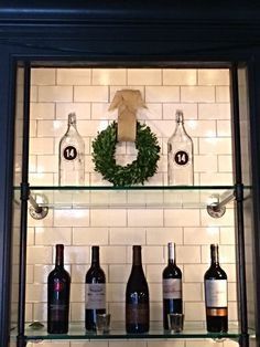 14 & Hudson|Restaurant, Kitchen and Bar| Chef Eric Woods| Piermont NY Holiday Wreath