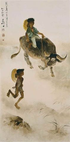 Find artworks by Lee ManFong (Indonesian, 1913 - on MutualArt and find more works from galleries, museums and auction houses worldwide. Museum, Gallery, Buffalo, Artwork, Artist, Painting, Oil, Fictional Characters, Board