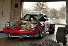 Martini Liveried Porsche 911 RSR, Oulton Park Masters Historic Festival 2011 (by _DaveAdams)