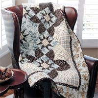 Lover's Walk - Free Floral Quilt Pattern