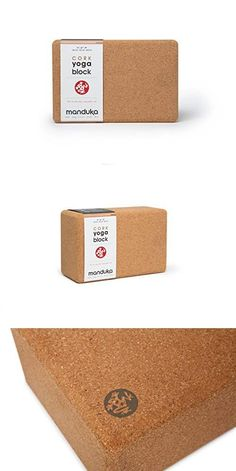 Manduka Cork Yoga Block, Cork