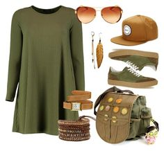 Creep Slain by glirendree on Polyvore featuring moda, Boohoo, Hermès, Tory Burch and Herschel Supply Co.