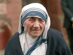 Mother Theresa, A Beautiful soul and spirit to all man kind here in this world and the next:)