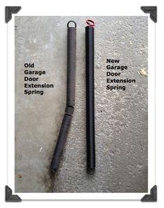 Old Versus New Garage Door Extension Spring