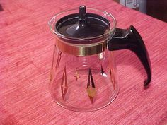 1 Cup Individual Cory Mid-Century Coffee Pot C2L14