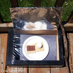 Craftiments:  Solar Oven S'Mores