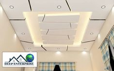 Deep Enterprise - False Ceiling, POP False Ceiling & Gypsum False Ceiling Service Provider from Kolkata, West Bengal, India Wooden Ceiling Design, Plaster Ceiling Design, Gypsum Ceiling Design, Interior Ceiling Design, House Ceiling Design, Ceiling Design Living Room, False Ceiling Living Room, Fall Ceiling Designs Bedroom, Bedroom Pop Design