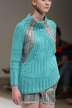 Textured knitwear - Esther Rigg