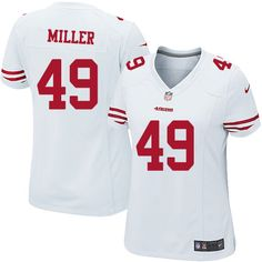 Official Nike Jerseys Cheap - 1000+ images about Bruce Miller Jersey: Authentic 49ers Women's ...