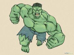 #Hulk #Fan #Art. (How to Draw the Incredible Hulk) By: Wikihow. (THE * 5 * STÅR * ÅWARD * OF: * AW YEAH, IT'S MAJOR ÅWESOMENESS!!!™)[THANK Ü 4 PINNING!!!<·><]<©>ÅÅÅ+(OB4E)