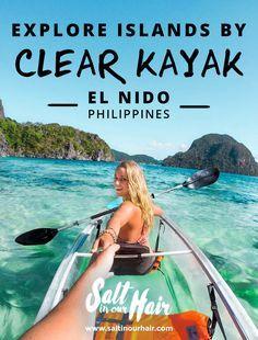 Explore islands around El Nido by Clear Kayak