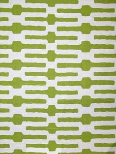 """""""Links, Citrus"""" wide Cotton From Annie Selke Home collection comes a fantastic organic meets geometric print in citrus-y lime green white produced by P/ Kaufman // chair DIY project Fabric Roman Shades, Fabric Board, Pillow Fabric, Chair Fabric, Contemporary Fabric, Fabric Remnants, Baby Boy Rooms, Diy Chair, Fabulous Fabrics"""